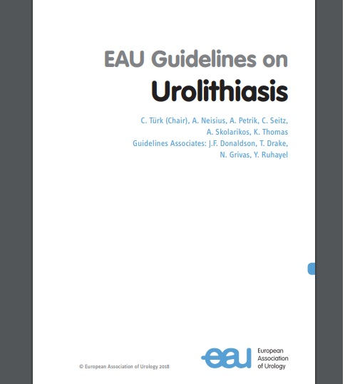 EAU Guidelines on urolithiasis-2018