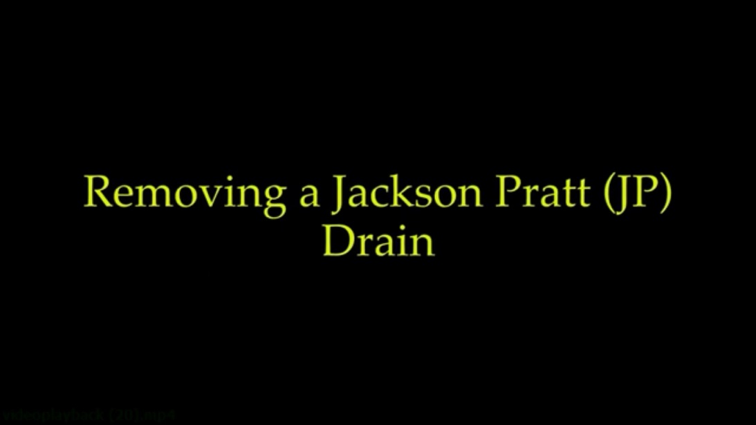 removing a JP drain