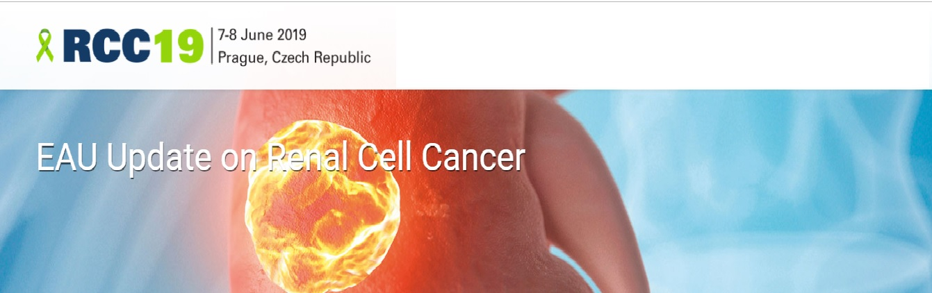 EAU update on renal cell cance(RCC19) will be held at 7-8 june 2019 in Prgue